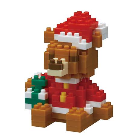 (購物車)《Nano Block 迷你積木》NBC-201 聖誕小熊