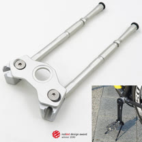 GEAROOP Coolstand 側腳架/停車柱/CNC鋁合金駐車架-銀色