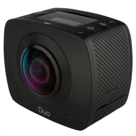 GIGABYTE JOLT DUO 360度全景雙眼運動黑炫機+戶外配件組+生活配件組-16G組