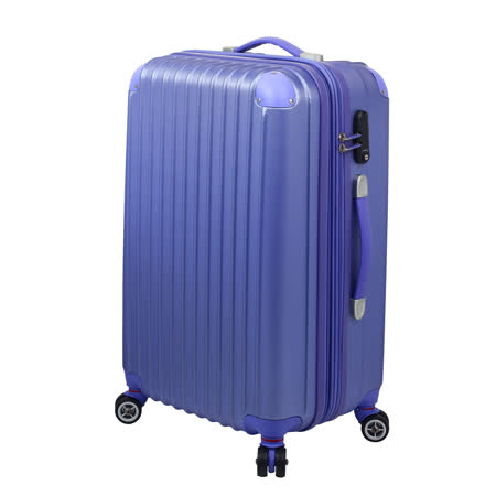 【ARTBOX】輕甜魅力-28吋ABS霧面硬殼行李箱(淺紫)