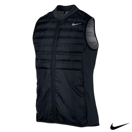 NIKE GOLF AEROLOFT 輕量保暖運動背心外套(黑)801892-010