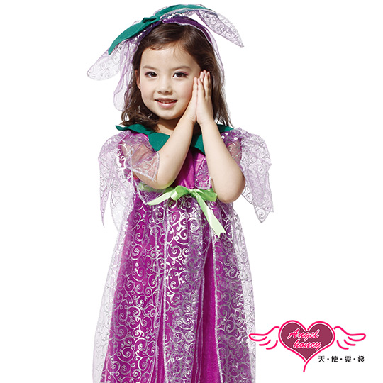 【天使霓裳】紫藤仙子 萬聖節童裝系列(紫M~L)