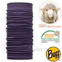 【西班牙 BUFF】頂級 Merino 超輕量超彈性恆溫保暖魔術頭巾/可當圍巾_圍脖帽子_113255 浪漫莓紫