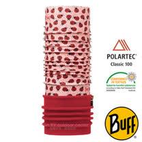 【西班牙 BUFF】兒童款 POLARTEC 加長型超彈性保暖魔術頭巾/可當圍巾_圍脖帽子_113423 瓢蟲派對