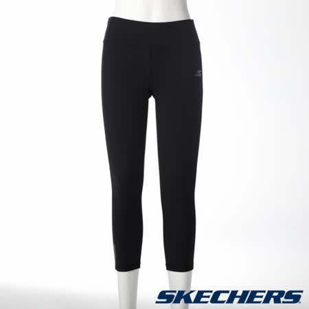 SKECHERS 女緊身半長褲 - GWPCP176BLK