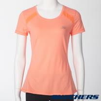 SKECHERS 女短袖衣 - GWPTT156CRL