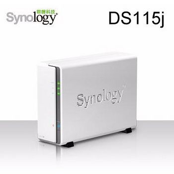 Synology 群暉科技 DS115j 1Bay 網路儲存伺服器