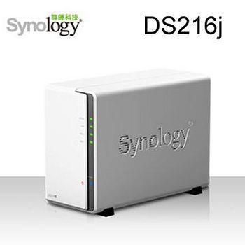 Synology 群暉科技 DS216j 2Bay 網路儲存伺服器