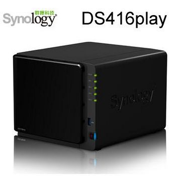 Synology 群暉科技 DiskStation DS416play 4Bay 網路儲存伺服器