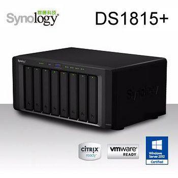 Synology 群暉科技 DS1815+ 8Bay 網路儲存伺服器