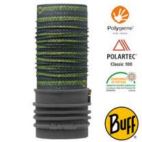 【西班牙 BUFF】POLARTEC 加長型超彈性保暖魔術頭巾/可當圍巾_圍脖帽子_113108 黎明綠野