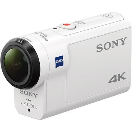 SONY FDR-X3000   4K運動攝影機標準版(公司貨)-加送32GB+讀卡機+清潔組+副廠座充