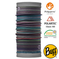 【西班牙 BUFF】POLARTEC 雙面用超彈性保暖魔術頭巾/可當圍巾_圍脖帽子_108980 秘魯文明