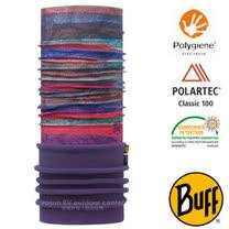 【西班牙 BUFF】POLARTEC 加長型超彈性保暖魔術頭巾/可當圍巾_圍脖帽子_113102 調色夢幻
