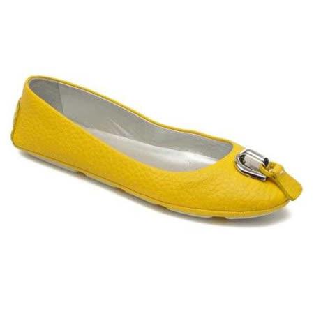 GEOX - D SARA BALL A  仕女鞋 黃色