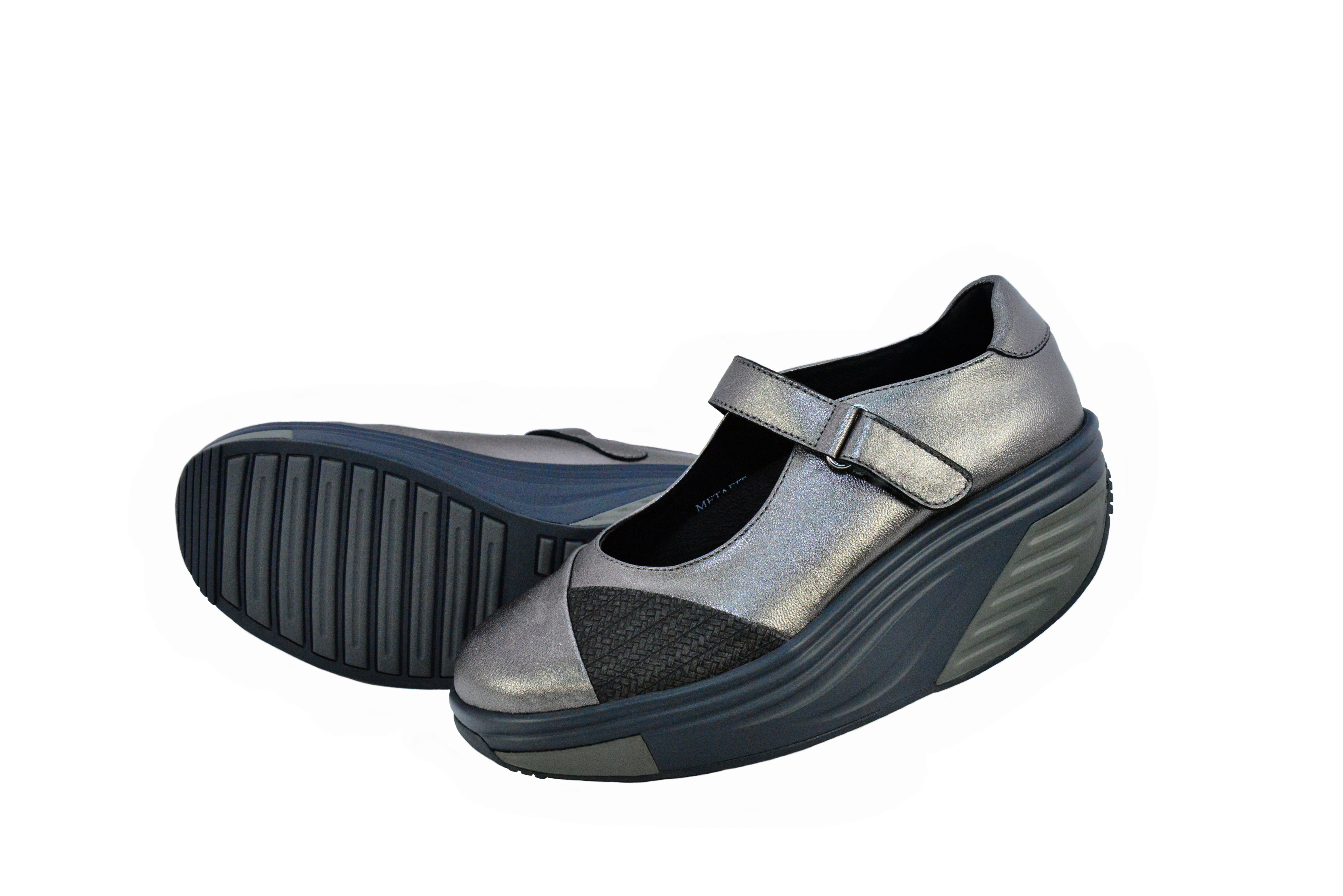METAFIT時尚健康鞋~娃娃鞋系列~MJ8~低調灰