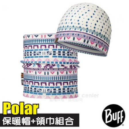 【西班牙 BUFF】Polar雙層保暖帽+雙面載彈性魔術頭巾超值組合/可當圍巾.口罩圍脖_雪漾派對 113460