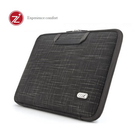 Cozistyle 15吋MacBook Pro Retina  智能散熱防潑水硬殼筆電保護包- 天然亞麻黑