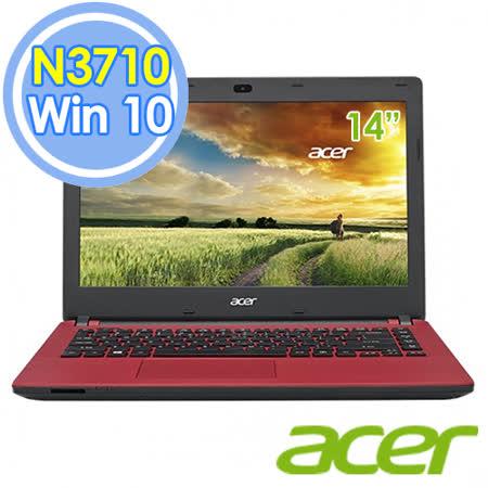 Acer ES1-431-P862 14吋 N3710 四核 筆電–送acer保溫杯+acer無線滑鼠