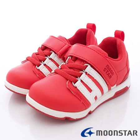 日本Carrot機能童鞋-HI系列防潑機能款C21552紅-(16cm-21cm)