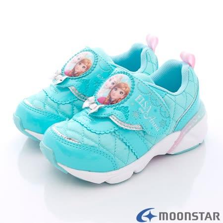 日本Carrot機能童鞋-冰雪奇緣機能運動款DNC11807藍-(15cm-19cm)