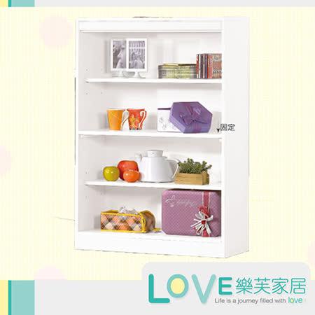 【好物分享】gohappy線上購物【LOVE樂芙】艾貝白色4尺高書架效果天母 sogo 地址