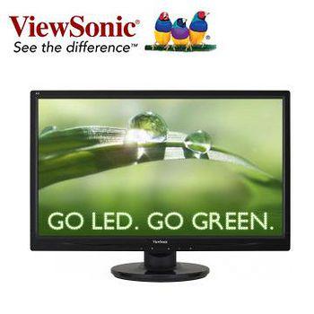 ViewSonic 優派 VA2445M-LED 24型 Full HD 寬螢幕