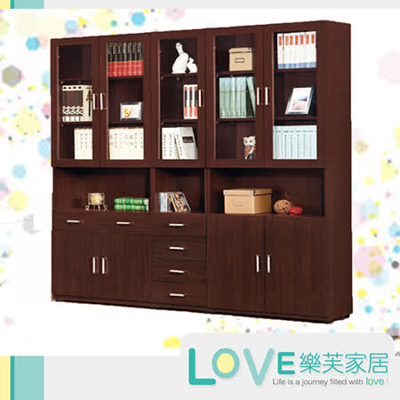【勸敗】gohappy【LOVE樂芙】貝蒂胡桃色6.7尺書櫃組好用嗎happy go 會員