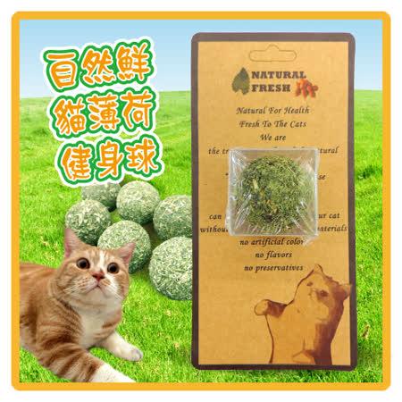 自然鮮 貓薄荷健身球(45-NF-011)*3顆入 (I102A11-1)