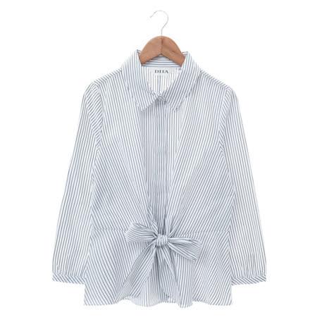 DITA 格紋長版襯衫