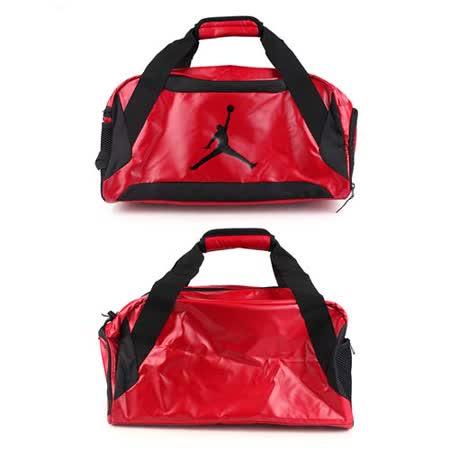 NIKE JORDAN TRAINING DAY側背包- 手提包 旅行袋 紅黑 F