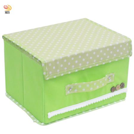 月陽田園風26X20硬盒掀蓋式衣物雜物整理箱收納盒(20LC)