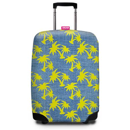 【Suitsuit】 荷蘭品牌行李箱套- 熱帶椰林(適用24-28吋行李箱)