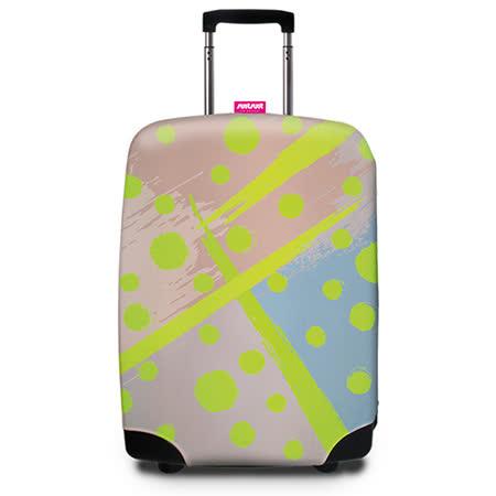 【Suitsuit】 荷蘭品牌行李箱套- 波卡圓點(適用24-28吋行李箱)