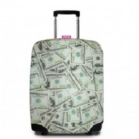 【Suitsuit】 荷蘭品牌行李箱套- 美鈔滿天飛(適用24-28吋行李箱)