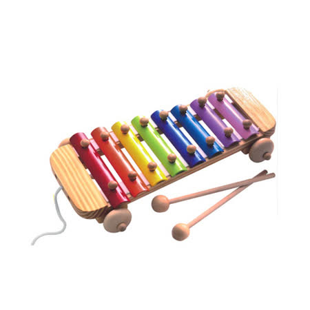 【幼福】彩色木琴敲敲樂