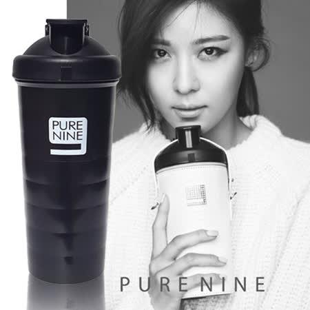 【韓國 PURENINE】智能免濾芯轉鹼水壺裸瓶1入-720ml(黑)