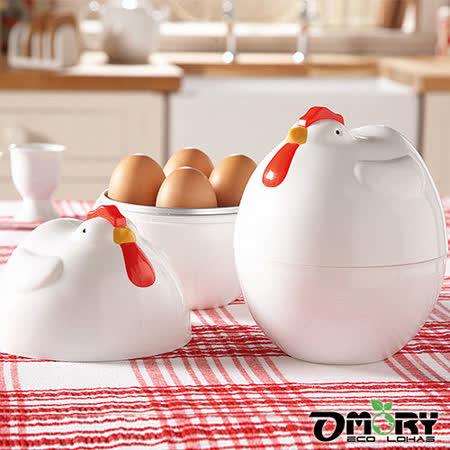 公雞造型微波煮蛋器(4顆入)