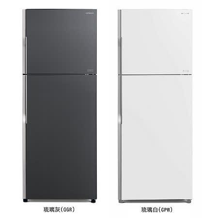 HITACHI 日立 381公升 變頻 雙門冰箱 RG399