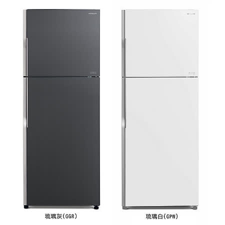 HITACHI 日立 414公升 變頻 雙門冰箱 RG439