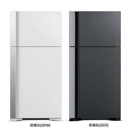 HITACHI 日立 570公升 變頻 雙門冰箱 RG599