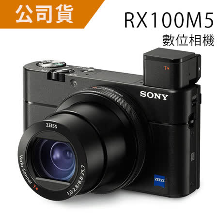 SONY DSC-RX100M5 (RX100V) (公司貨).-送64G+專用電池(NP-BX1)+座充+清潔組+保護貼+讀卡機+小腳架+相機包