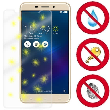 D&A ASUS ZenFone 3 Laser  / 5.5 吋電競專用5H螢幕保護貼 NEW AS玻璃奈米