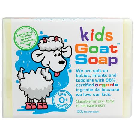 澳洲進口Goat Milk Soap純手工製作山羊奶皂-有機認證嬰幼兒童專用
