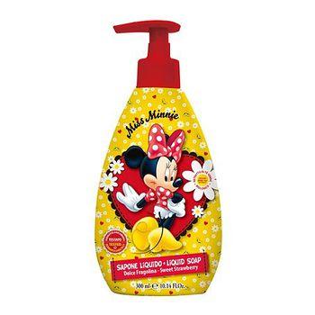 義大利進口Disney Minnie 洗手乳(甜草莓香) 300ml