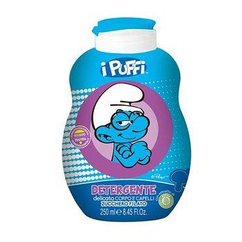 義大利原裝進口Smurfs 洗髮沐浴乳 (棉花糖) 250ml