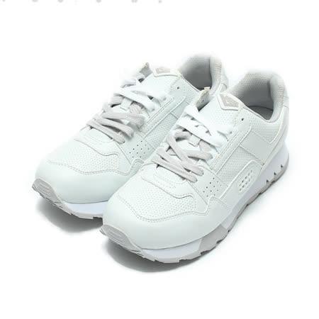 (男) PONY 限定版復古慢跑鞋 白淺灰 鞋全家福