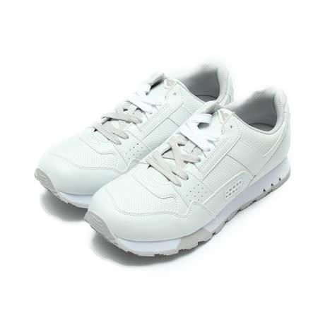 (女) PONY 限定版復古慢跑鞋 白淺灰 鞋全家福