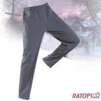 【瑞多仕-RATOPS】中性款 刷毛保暖長褲(出芽配).長袖衛生褲.保暖褲_DB5937 暗灰/影灰色 V1