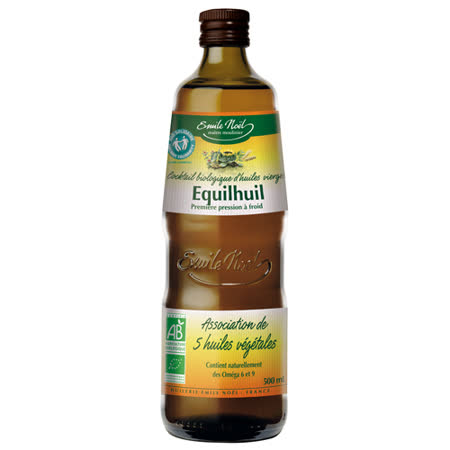 ★買一送一★【法國艾米爾諾耶】100%有機冷壓初榨五合一植物油